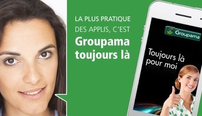 "L'application groupama ""Toujours là"""
